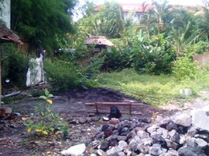 land in seminyak dhyana pura for lease